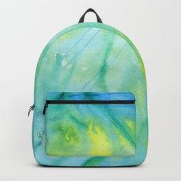 Mermaid´s Grotto Watercolor Backpack