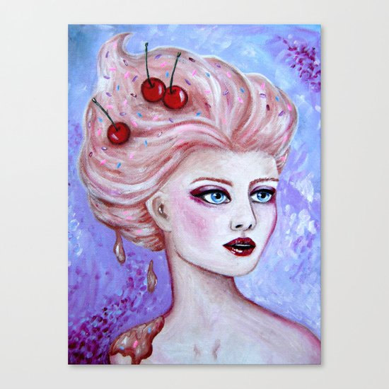 Susie Sundae Canvas Print