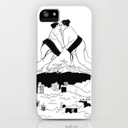 sumo time iPhone Case