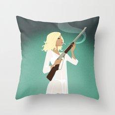 Betty's BB Gun Throw Pillow