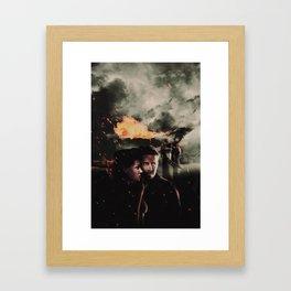 Outlaw Queen : The Drago Framed Art Print