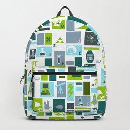 Geek Chic Alphabet Backpack