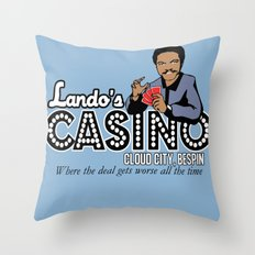 Lando's Casino Throw Pillow