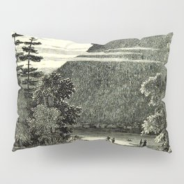 The Old Man of the Mountain Pillow Sham