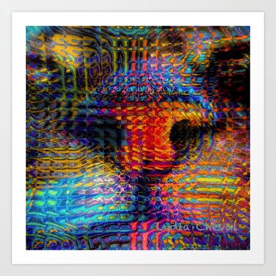 Dangerous reflection Art Print