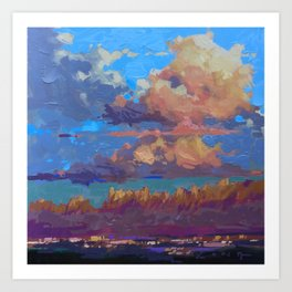 Organ Mountains, Las Cruces Art Print