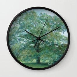 Trees of Trent Park #2 Wall Clock
