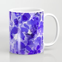 Royal Blue Delphiniums Coffee Mug