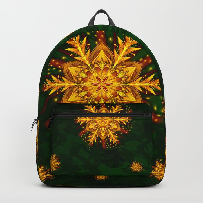 Forest Fire Flake Backpack