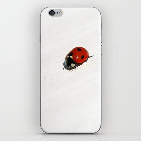 ladybug II iPhone & iPod Skin
