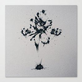 Splaaash Series - Go Goku Ink Canvas Print
