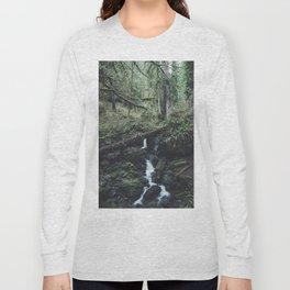California Redwood Rainforest - Nature Photography Long Sleeve T-shirt