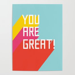 You Are Great! Poster