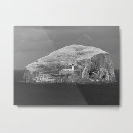 Bass Rock, Scotland Metal Print