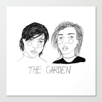 cactei Canvas Prints featuring The Garden by ☿ cactei ☿