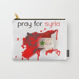 Pray for syria Carry-All Pouch