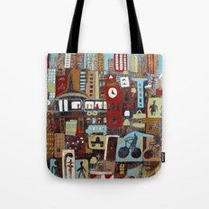 City, City Tote Bag