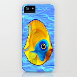 Tropical Fish on Clear Ocean Water 3D iPhone Case