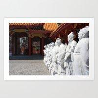 Confucius Shrine  Art Print