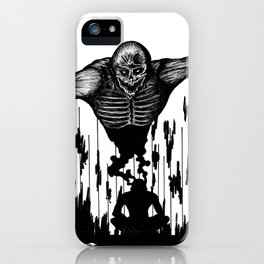 The Monster Within iPhone Case