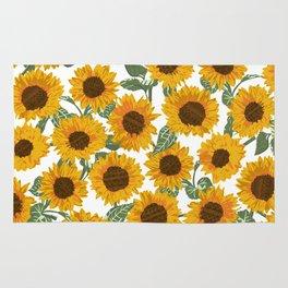 SUNNY DAYS -sunflowers- Rug