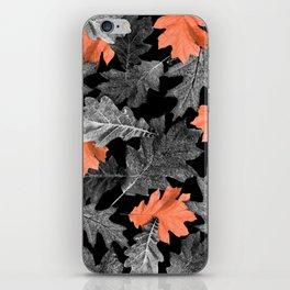 Fall Leaves - Orange iPhone Skin
