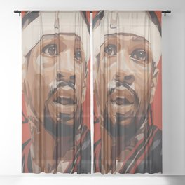 """Iverson """"The Answer"""" Sheer Curtain"""