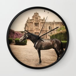 from andalusian breed begining. Spain Wall Clock