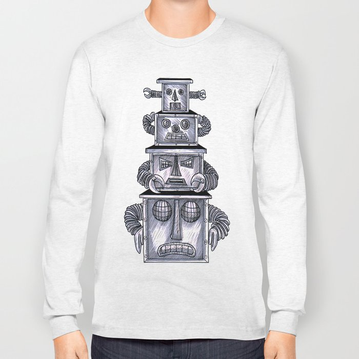 robo totem 1 Long Sleeve T-shirt