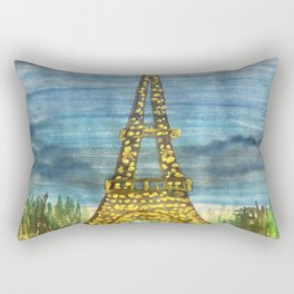 La Paris, oui oui Rectangular Pillow