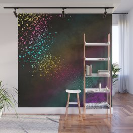 Explosion of Feelings - Abstract Texture Wall Mural