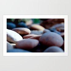 pebbles we carry/2 Art Print