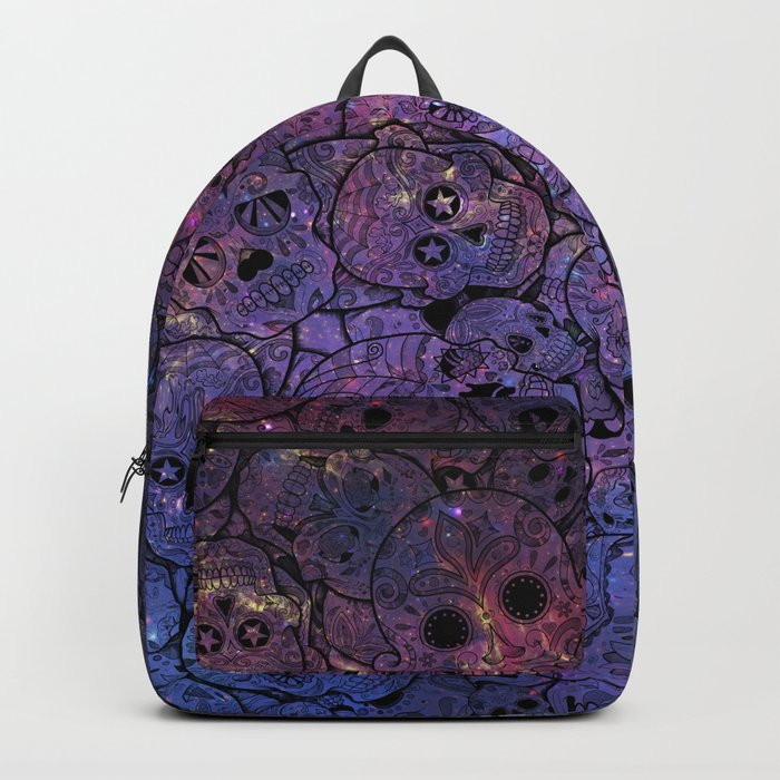 Sugar Skull Collage Rucksack