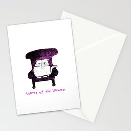Centre of the Universe (Pink) Stationery Cards