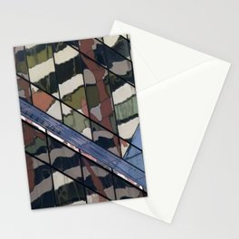 Manhattan Windows - Camouflage Stationery Cards