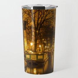 Amsterdam canals Travel Mug