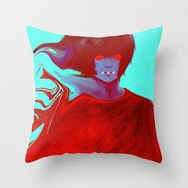 Nunth Throw Pillow
