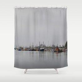 Across The Bay Shower Curtain