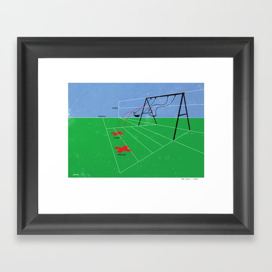 The Object Is Simple Framed Art Print