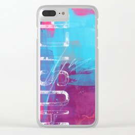 SEIZE THE MOMENT Clear iPhone Case