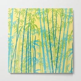 Bamboo II Metal Print