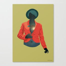 One body - one universe Canvas Print
