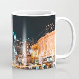 Light Trails Transamerica Pyramid Coffee Mug