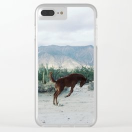 Bucking in Baja Clear iPhone Case