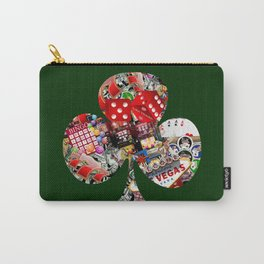 Club Playing Card Shape - Las Vegas Icons Carry-All Pouch