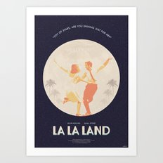 City of Stars - La La Land Art Print