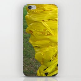 caution iPhone Skin