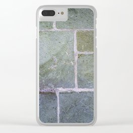 Stone # 1 Clear iPhone Case