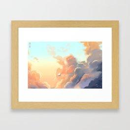 Cumulosolaris Framed Art Print
