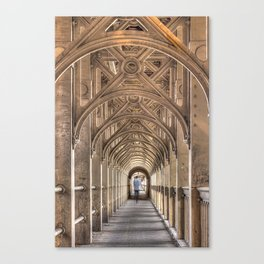 Color High Level Bridge in Newcastle upon Tyne Canvas Print